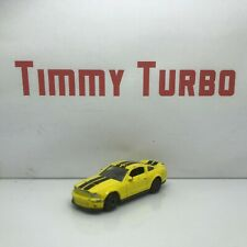 FORD SHELBY MUSTANG GT 500 YELLOW BLACK DIECAST 70 MM LONG 36