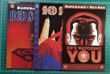 Superman Red Son #1-3 2003 Run Set Complete Mark Millar DC Elseworlds Russian NM