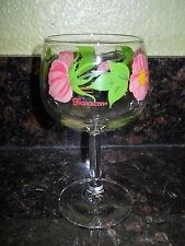 """Franciscan Dessert Rose Water Goblet 6 1/2"""""""