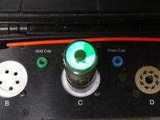 RCA Radiotron 6E5 Eye Indicator Radio Tube, NOS, Bright Green