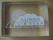 Illinois Air Team Paper Weight