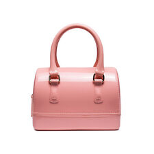 Candy Color PVC Jelly Pillow Shape Handbag Women Cross-body Shoulder Bag Jellies