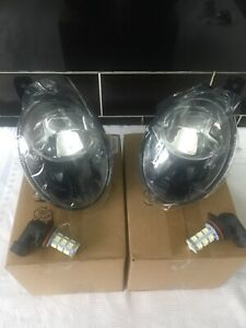 VW Transporter T5 Fog Lights Lamps Inc DRL LED Bulbs T5.1 2010+ UK Stock