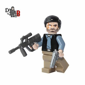 The Walking Dead Governor Philip Minifigure. Made using LEGO & custom parts.