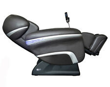 Black Osaki 7200CR Zero Gravity Massage Chair Recliner with Quad Heated Rollers