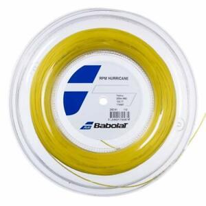 Babolat RPM Hurricane 17G 1.25mm (yellow) 660ft 200m Reel Tennis String