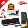RCA DVD Home Theater System W/ HDMI 1080p Output Dolby D 5.1 Surround Sound 8 Pc