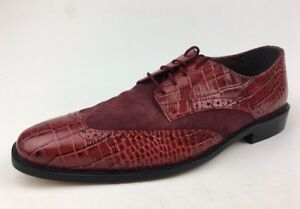 Stacy Adams Arturo Oxfords - Men's Wide Size 10 W, Red 545