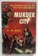 MURDER CITY Hall POCKET BOOK Gangster MOB
