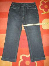 Stiefelhose Caprihose Jeans von Esprit Denim Gr. 36 schwarzblau