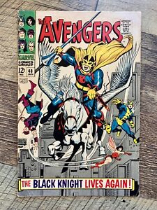 AVENGERS #48 - GD 2.0 - 1968 / 1ST BLACK KNIGHT / MAGNETO