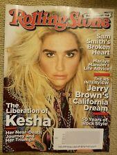 Kesha, Sam Smith, Marilyn Manson, Demi Lovato Rolling Stone Magazine Oct 2017
