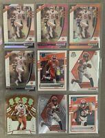 Tee Higgins Rookie RC Lot (9) 2020 Mosaic Donruss Prizm Cincinnati Bengals 🔥