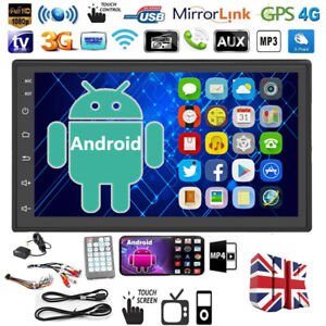 """7"""" Double 2Din Android 9.0 Car Stereo Radio Touch Screen Bluetooth FM MP5 Player"""