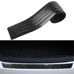 35''Car Bumper PVC Rubber Protector Cover Strip Rear Trunk Door Sill Guard Trim