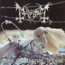 Mayhem - Grand Declaration of War CD 2000 black metal Norway Season of Mist