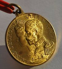 PC 1911 UK Britain King George V Queen Mary Coronation Medal BU Lustre UNC