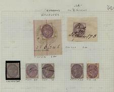 Great Britain back of the book revenues stamps Look Kel0414