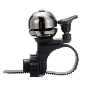 Bicycle Bike Bell Retro Classic Loud Sound Safety Warning Alarm Cycle -Silver