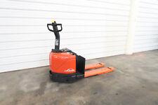 Linde EW60-02, 6,000# Electric Pallet Jack, No Battery, Demo unit. Forklift.