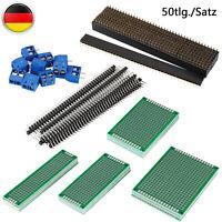 Klassisch 10 Stueck Fertigen Prototypen PCB Seitig Universalleiterplatte Tu W4O8