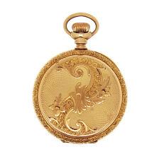 Antique Vintage SOLID 14k Gold Elgin Pocket Watch