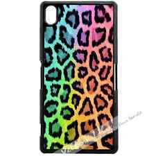 For Sony Xperia Z3 Case Phone Cover Leopard Print Y00013