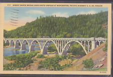 Robert Booth Bridge Pacific HYW U.S. 99 Oregon Stamped 1940   # D8