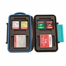 Memory Card mini case mc-2 tarjetas de memoria de caja 4x Compact Flash y 8 SD