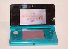 Nintendo 3DS Aqua Blue Handheld System AC adapter