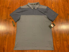 Nike Golf Men's Dri Fit Color Block OLC Polo Shirt Large L Gray NWT MSRP 65.00