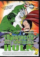 LA RIVINCITA DELL'INCREDIBILE HULK - DVD (NUOVO SIGILLATO)