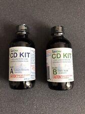 Chlorine Dioxide Water Treatment Purification| 2 Part Liquid A & B Kit, 8 fl oz
