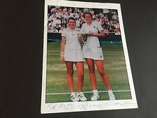 CORINA MORARIU 2 GRAND-SLAM TITEL TENNIS signed Photo 20x30 Autogramm
