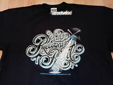RECOGNIZE Real Graphic Streetwise Clothing Men's Blue T Shirt Size 4XL New NWT