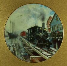 Winter Rails By Sea Or Rail Plate Ted Xaras Train Winter Railroad Ship Seagull