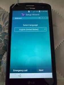 LG G Vista VS880 - 8GB - Black (Verizon) Smartphone with 16gb Micro SD