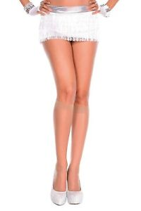 sexy MUSIC LEGS sheer KNEE highs SOCKS dressy PANTYHOSE nylon STOCKINGS stretch
