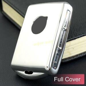 Silver TPU Full Cover Smart Key Case For Volvo S60 S90 V60 V90 XC40 XC60 XC90