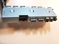 Dell FRONT I/O PANEL (WN097) & power switch assembly with 2ea/USB/Mike IN/HPsOUT