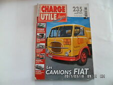 CHARGE UTILE N°235 07/2012 CAMIONS FIAT TPS CHATEL MERCEDES LAF 911  K44