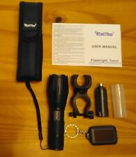 Tactical Flashlight Torch Relybo LED XML-T6 Zoom New Camping Hiking Scouting