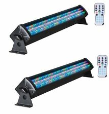 2 American DJ MEGA BAR 50RGB RC LED 7-Channel DMX Wash Lights w/Wireless Remote
