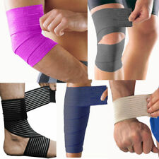 Adjustable Compression Wrap Elbow Wrist Ankle Knee Calf Support Sport Brace Gym