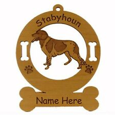 Stabyhoun Standing Dog Breed Ornament Personalized With Your Dogs Name 4116