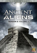 ANCIENT ALIENS SEASON 5 VOLUME 2 (2 Set DVD) History Channel