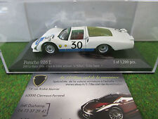 PORSCHE 906 L winner LE MANS 1966 SIFFERT 1/43 MINICHAMPS 400666630 voiture mini