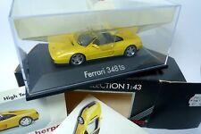 FERRARI 348 TS JAUNE - YELLOW - HERPA  1/43