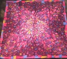 """LOUIS VUITTON LV Scarf Stole Silk 100% Floral Woman Luxury Auth New Unused 36"""""""