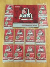 2005 Ohio State Buckeyes Legends of Scarlet & Gray Coin-Medallion Full Set of 12